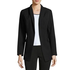 NWT MisookOpen-Front Long Jacket, Black